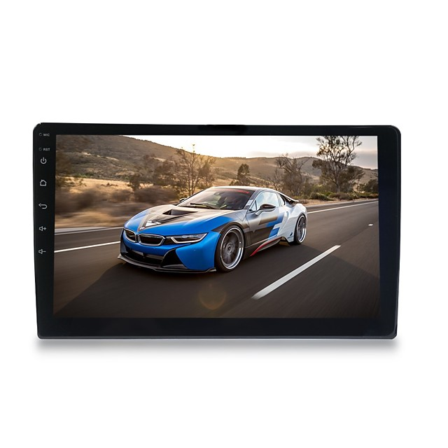 Touch Screen Car MP5 Player 10 Inch Universal 2 Din Bluetooth USB FM Aux Input Car Radio MP5 Player 16G 32G 2G 32G with Rear View Camera Black