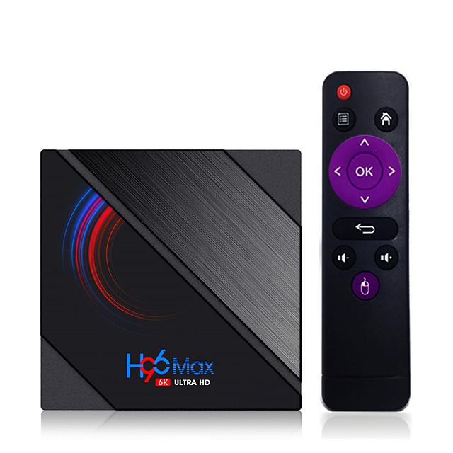 LEMFO H96 Max H616 Smart TV Box Android 10 2GB RAM 16GB 1080p 4K BT GooglePlay Store Youtube H96Max Media Player Set top Box