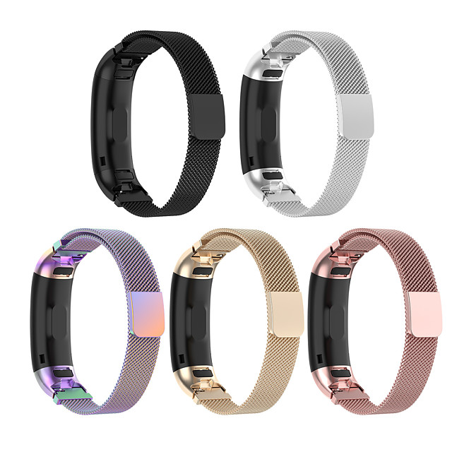 Watch Band for Huawei Band 3 Pro / Huawei band 4 pro Huawei Sport Band Stainless Steel Wrist Strap