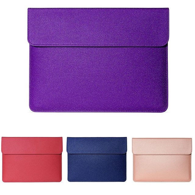 11.6 Inch Laptop / 12 Inch Laptop / 13.3 Inch Laptop Sleeve / Tablet Cases PU Leather / Polyurethane Leather Textured / Contemporary for Men for Women for Business Office Waterpoof Shock Proof