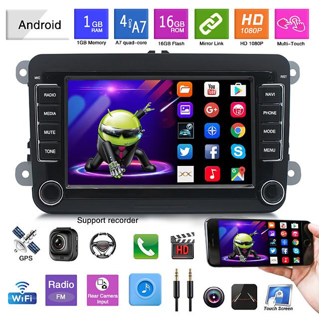 7 Inch Autoradio 2Din Android Car MP5 Multimedia Player 16G Radio Gps Navigation Bluetooth Wifi  FM Auto Audio For Cars