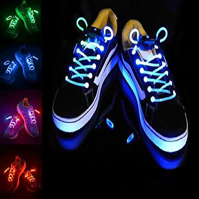Bike Light LED Flashlights / Torch LED Shoelaces Bicycle Cycling Creative Flashlight Colorful CR2016 Battery Camping / Hiking / Caving Running Cycling / Bike