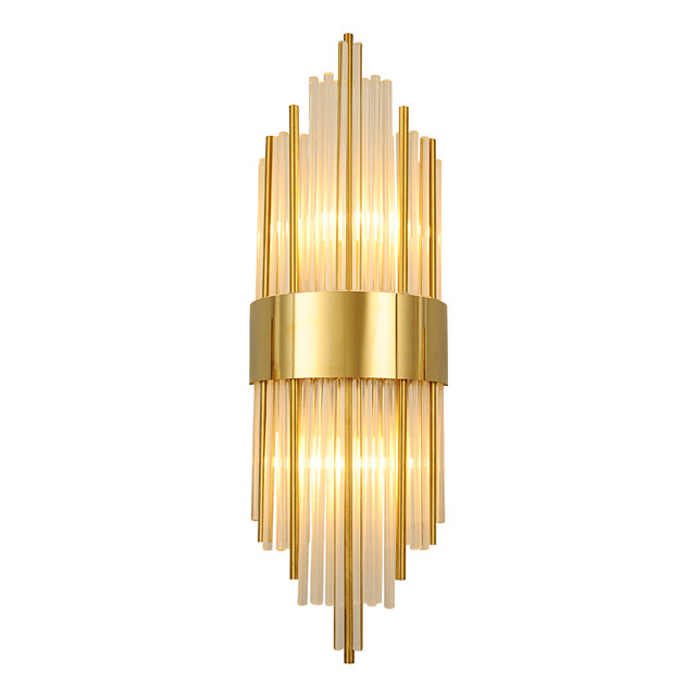 Crystal Modern Nordic Style Wall Lamps Wall Sconces Bedroom Shops / Cafes Crystal Wall Light 110-120V 220-240V