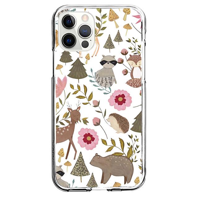 منظر هاتف قضية إلى عن على Apple آيفون 12 اي فون 11 آيفون 12 برو ماكس تصميم فريد حالة وقائية و حامي الشاشة ضد الصدمات غطاء خلفي TPU