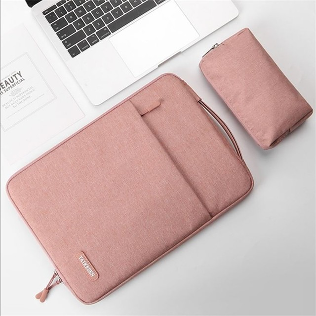 2pcs Laptop Notebook Case Tablet Sleeve Cover Bag 14 15for MacbookProAir2020 Retina Xiaomi Huawei HP Dell