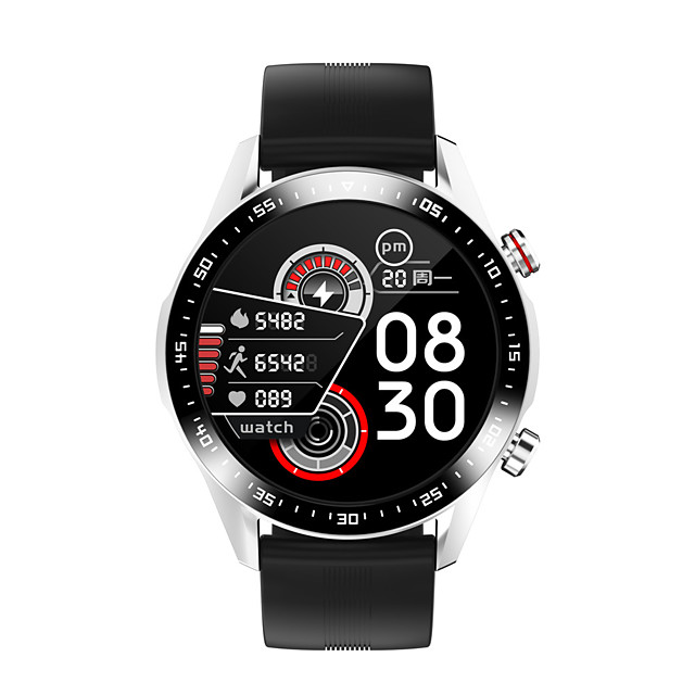 E12 Smartwatch Support Bluetooth Call&Heart Rate/Blood Pressure Measure, Sports Tracker for Android/iPhone/Samsung Phones