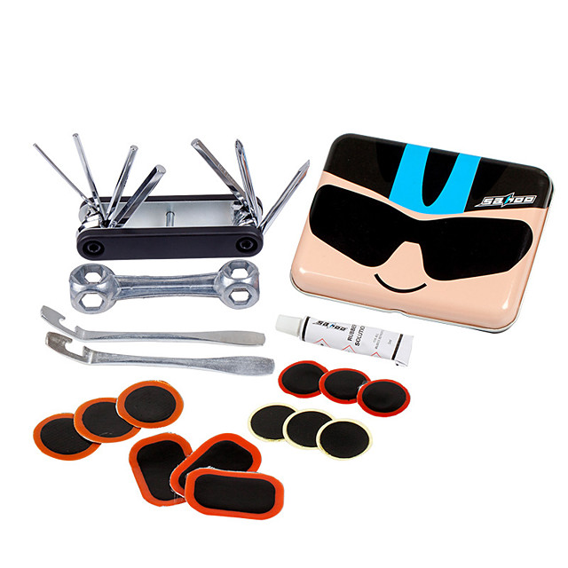 Multifunction Repair Tools & Kits Stainless Steel + Plastic Recreational Cycling N / A Bike / Cycling
