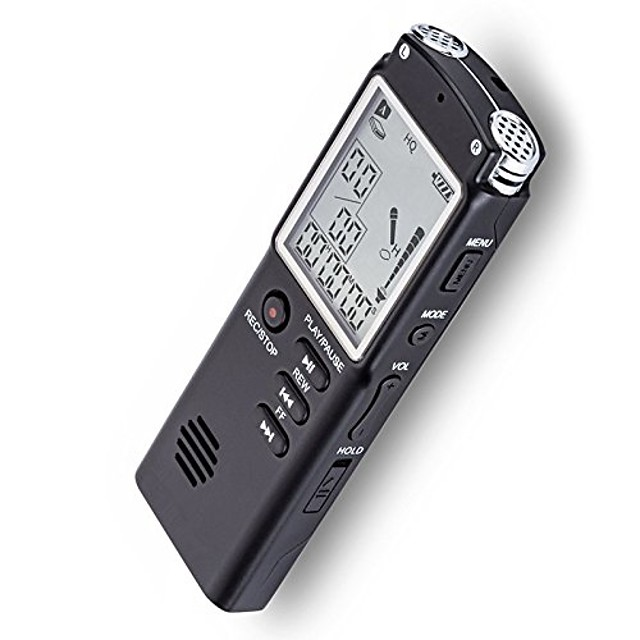 8gb/16gb/32gb voice recorder usb professional 96 hours dictaphone digital audio voice recorder with wav mp3 player 16 gb