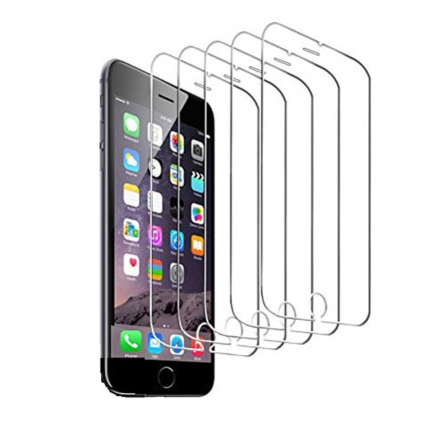 5-Pack Screen Protector For iPhone 12 Pro max iPhone 11 iPhone X XS MAX iPhone SE2020 iPhone 8/7 Tempered Glass Screen Protector 3D Touch Anti-scratch Screen Protector