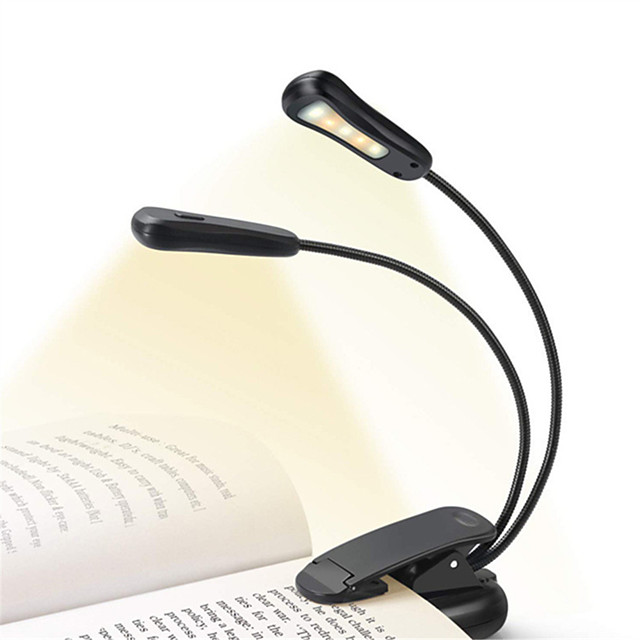 Desk Lamp / Reading Light Rechargeable / Dual-Head Simple / Modern Contemporary USB Powered For Study Room / Office / Indoor
