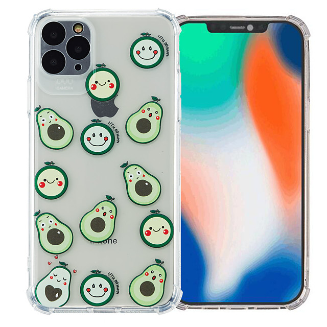 Case For Apple iPhone 12 / iPhone 11 / iPhone 12 Pro Max Shockproof Back Cover Cartoon TPU