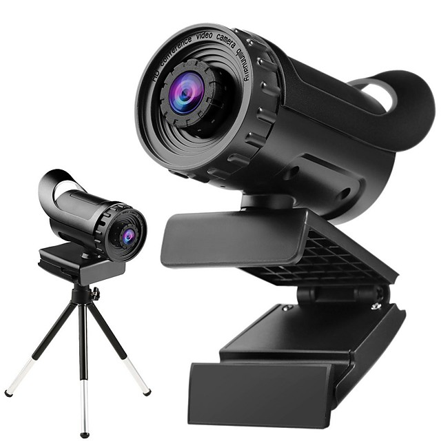 Webcam HD Desktop Laptop PC Web Camera 1080P With Microphone USB Plug and Play Teaching Live Conference Computer Cameras HD 1080P