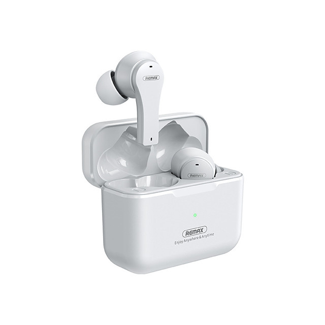 Remax TWS27 Wireless Earbuds TWS Headphones Bluetooth5.0 with Charging Box for Mobile Phone