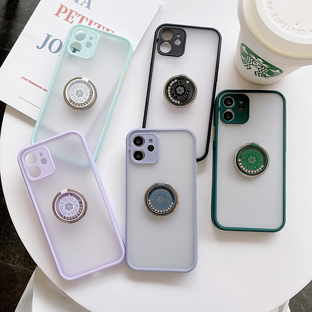 Case For Apple iPhone 11 / iPhone XR / iPhone 11 Pro Shockproof Back Cover Solid Colored TPU