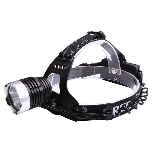 LED Bike Light Headlamps - Bicycle Cycling Waterproof Anti Fog Portable Adjustable 2000 lm Rechargeable Power 18650 lithium battery Camping / Hiking / Caving Cycling / Bike Hunting / Aluminum Alloy