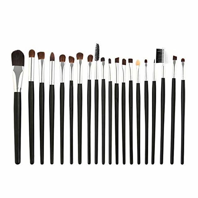 makeup brush professional eye shadow powder foundation eyebrow lip makeup brush set blend eyeline beauty cosmetic eyes make up brushes tool kit. by  (color : as show, size : one size)