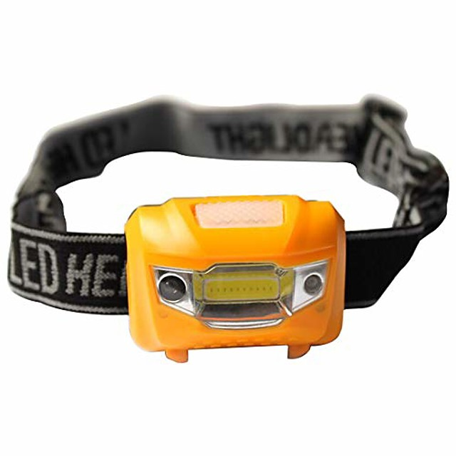mini waterproof led headlamp torch super bright, lightweight & comfortable - headlamp flashlight perfect for running, walking, camping, reading, hiking, kids, diy & more headlamp torch with