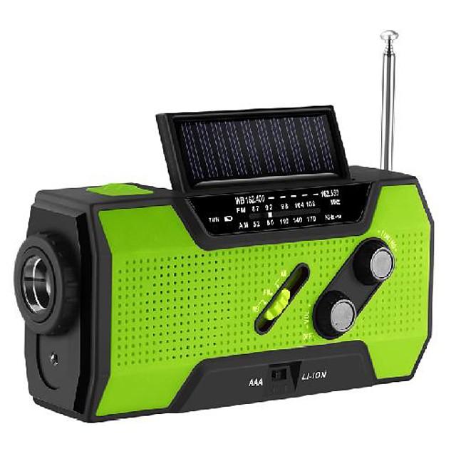 portable solar radio with usb interface solar radio