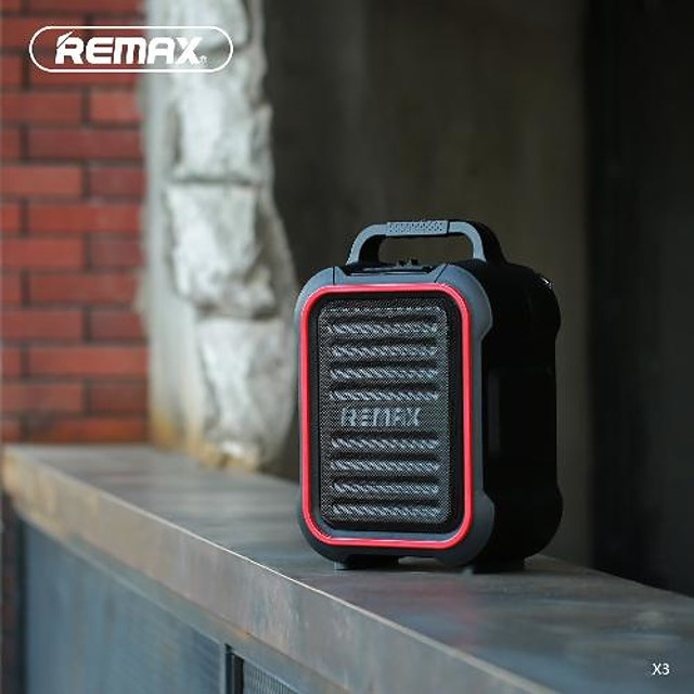 remax rb-x3 bluetooth outdoor speaker waterproof outdoor portable for
