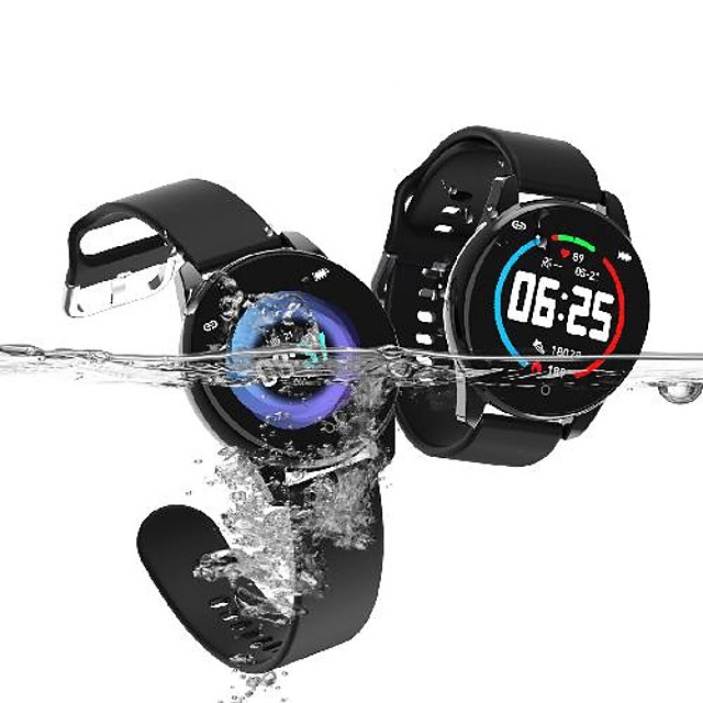 Stainless Smartwatch for Android/IOS Phones, Sports Tracker Support Heart Rate/Blood Pressure Measure