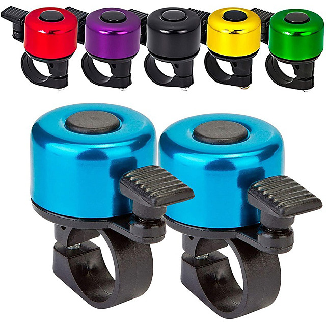 aluminum alloy bicycle handlebar bell bike ring ringer road bikes mtb horns cycling bell bicycle accessories