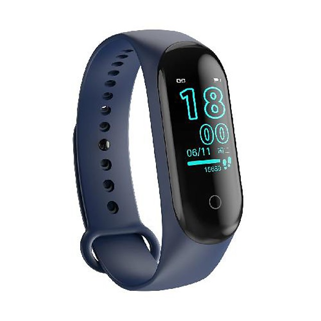 WAZA M4 Men Women Smartwatch Android iOS Bluetooth Heart Rate Monitor Sports Smart ECG+PPG Pedometer Call Reminder Chronograph