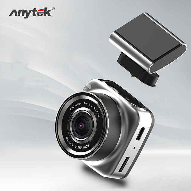 Anytek Q2N 1080p Boot automatic recording Car DVR 140 Degree Wide Angle Dash Cam with Video + photo Car Recorder