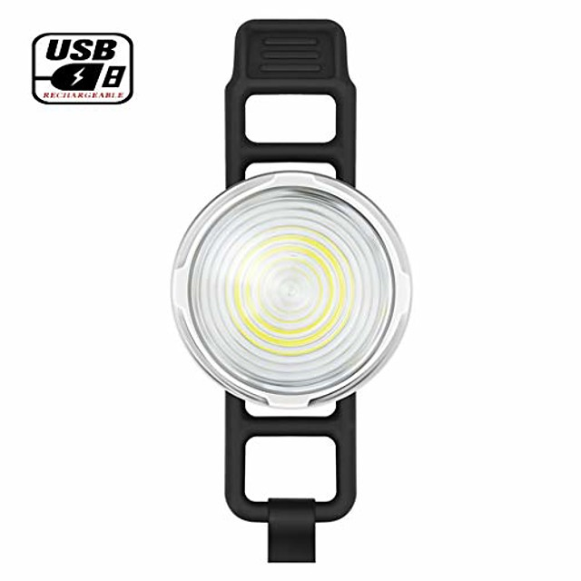 bicycle taillight, usb rechargeable led super bright bicycle taillight, ipx6 waterproof 5 light modes bicycle taillights for road / mountain bike / helmet -10.19 (size: one)