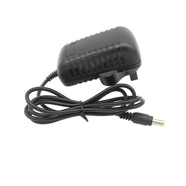 1pc with DC Connector Plastic Power Adapter