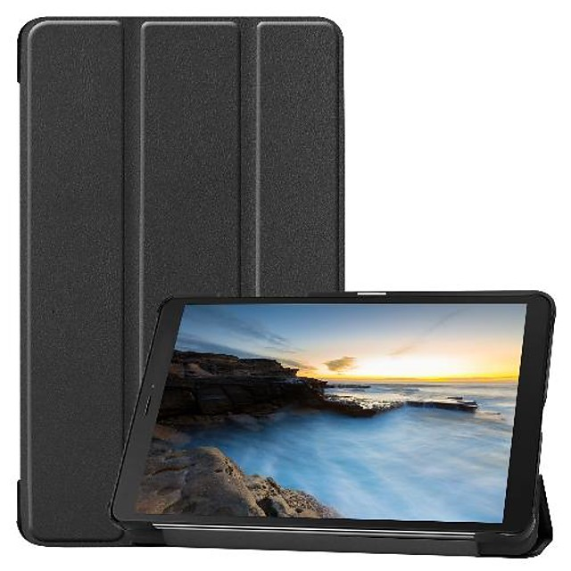 Case For Samsung Galaxy Samsung Tab A 8.0(2019)T290/295 Shockproof / Origami Full Body Cases Solid Colored PU Leather