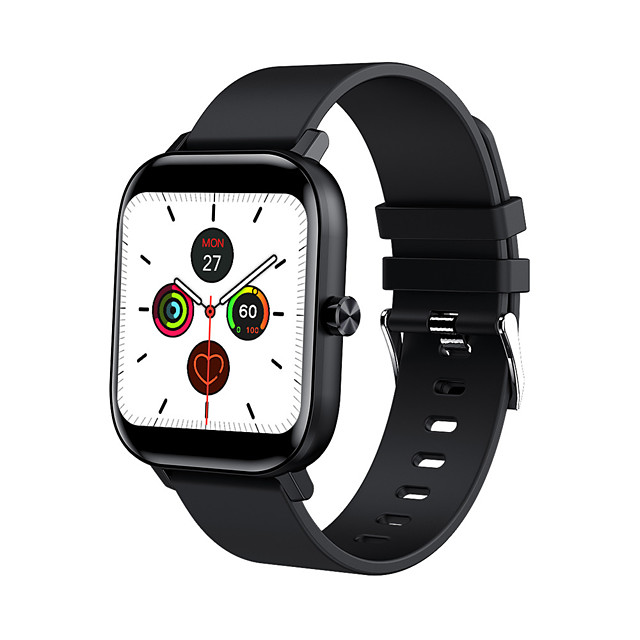 Long Battery-life Smartwatch for Apple/Android Phones, Sports Tracker Support Bluetooth Call/Heart Rate&Blood Pressure Measure