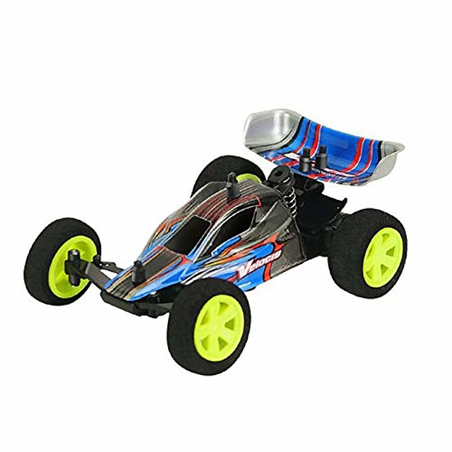 1/32 4wd 2.4g remote control racing drift car,high speed vehicle model kids toy - blue