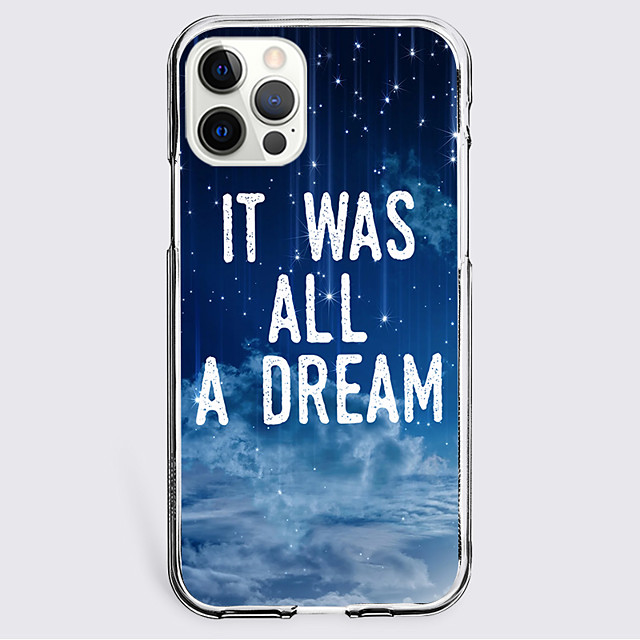 sky Letter Case For Apple iPhone 12 iPhone 11 iPhone 12 Pro Max Unique Design Protective Case Shockproof Back Cover TPU