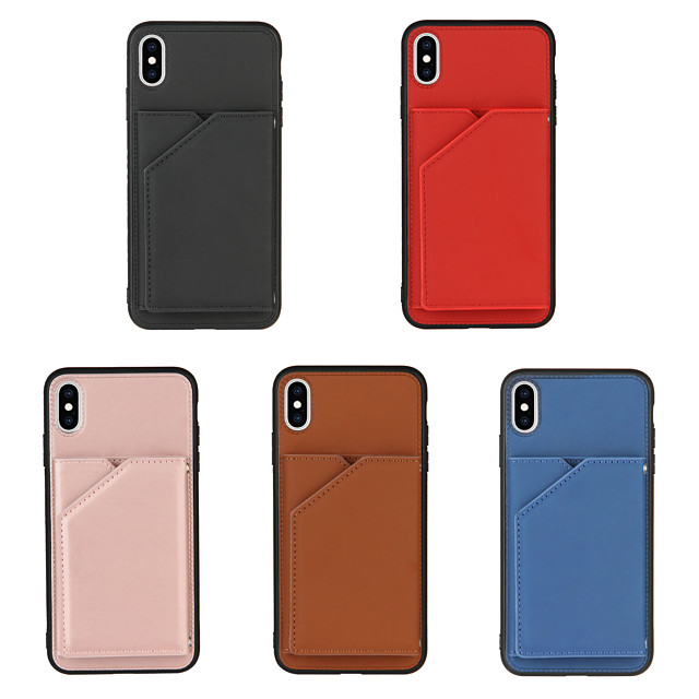 Case For Apple iPhone 12 / iPhone 11 / iPhone 12 Pro Max Shockproof Full Body Cases Solid Colored PU Leather / TPU