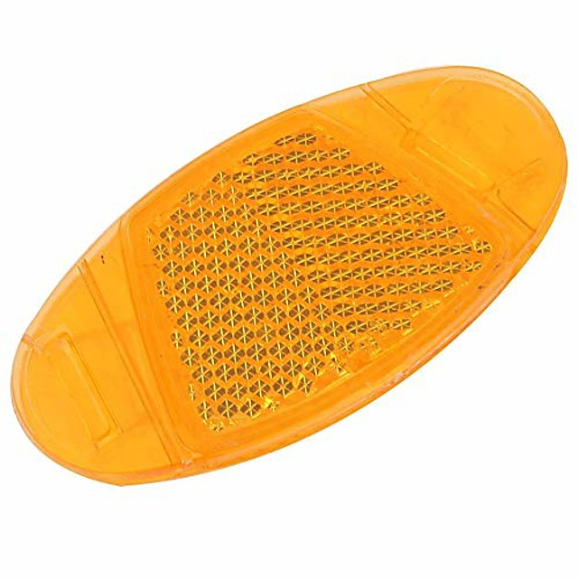 bicycle wheel spoke reflectors,4 pcs bicycle wheel safety warning light reflective tail light(yellow)
