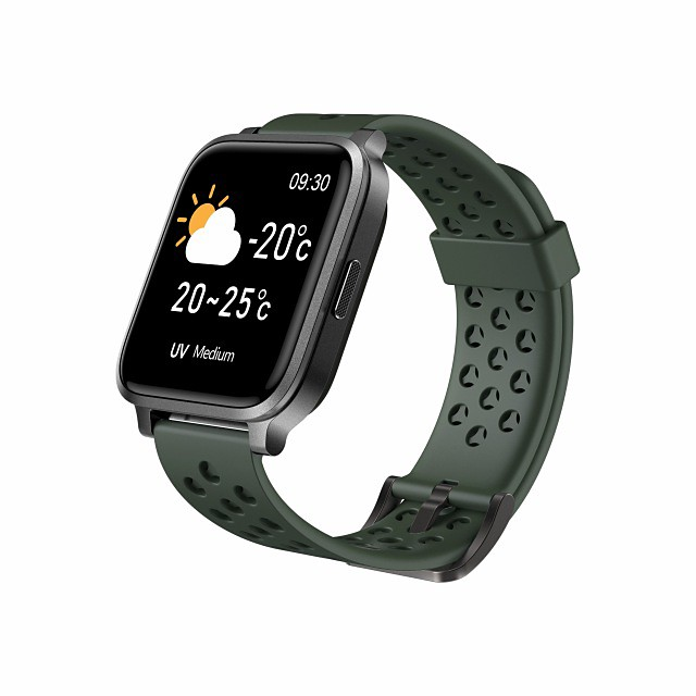 M3 Smartwatch for Apple/Android Phones, Sports Tracker Support Heart Rate/Blood Pressure Measure