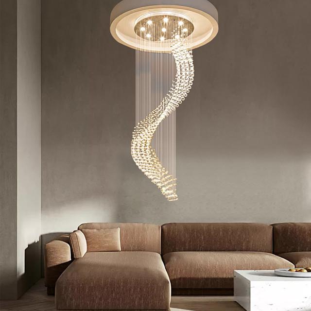 50 cm Lantern Desgin Chandelier Gold Pendant Light Metal LED 110-120V  220-240V
