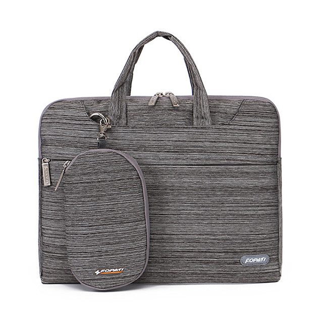 Unisex Bags Nylon Top Handle Bag Zipper Office & Career Handbags Black Blue Purple Red