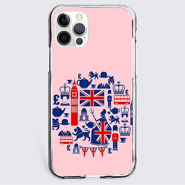 Graphic Prints Case For Apple iPhone 12 iPhone 11 iPhone 12 Pro Max Unique Design Protective Case Shockproof Back Cover TPU