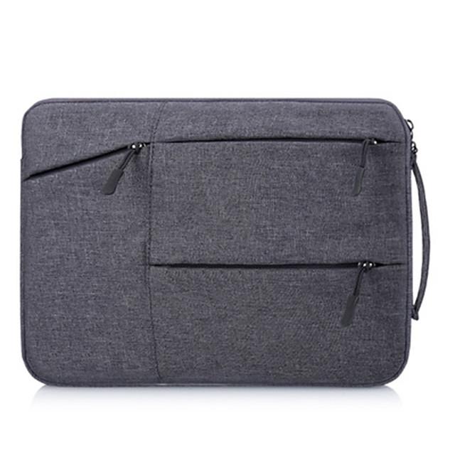 Multi Pocket Bag For MacbookPro2020 13/15/16 Inch Waterproof Laptop Sleeve For Lenovo Macbook1Air2020