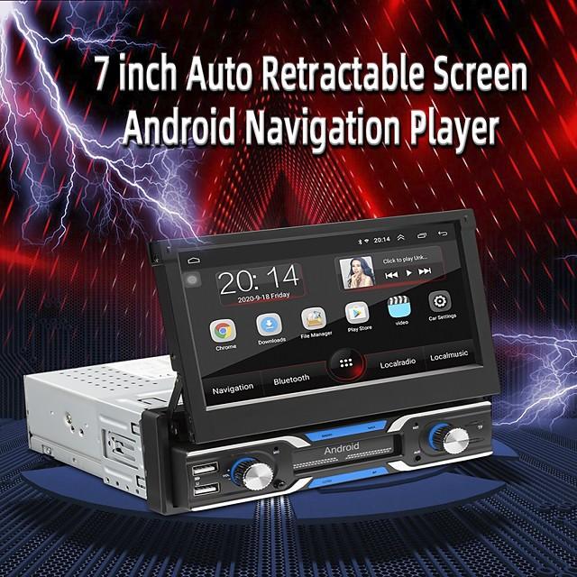 SWM 9703S Car Radio Multimedia Video Player 7 Inch FM Autoradio Bluetooth 4.0 Android 9.1 Mirror Link GPS Navigation Car Radio