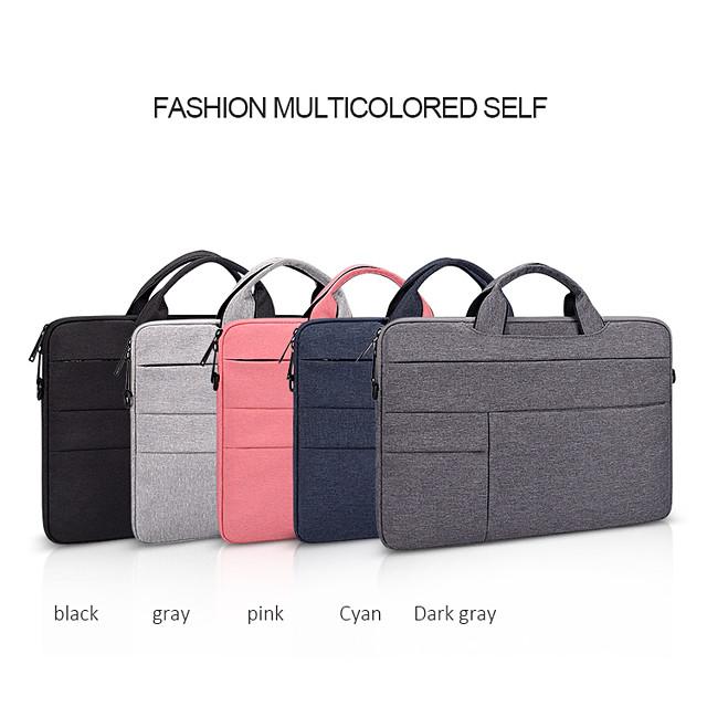 ND05SDJ 11.6 Inch Laptop / 13.3 Inch Laptop / 14 Inch Laptop Sleeve / Shoulder Messenger Bag / Briefcase Handbags Plain