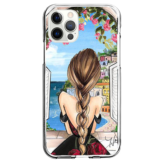 Characters Case For Apple iPhone 12 iPhone 11 iPhone 12 Pro Max Unique Design Protective Case Shockproof Back Cover TPU