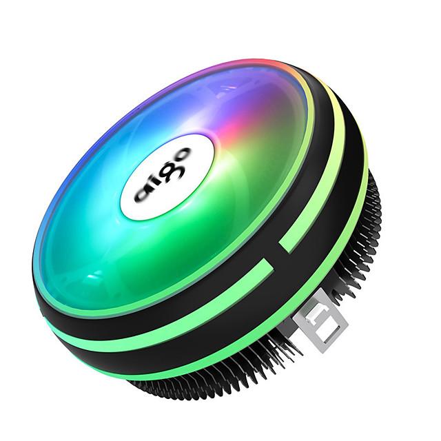 Go Fan CPU 120mm PWM 122v 4 Pins RGB  I3 I5 I7 AM3 AM4 Silence
