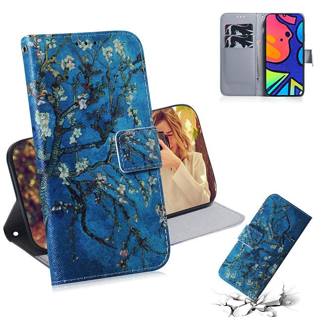 Case For Samsung Galaxy Galaxy Note 20 Ultra / Galaxy A51 / Galaxy S10 Lite Shockproof Full Body Cases Tree / Flower PU Leather / TPU