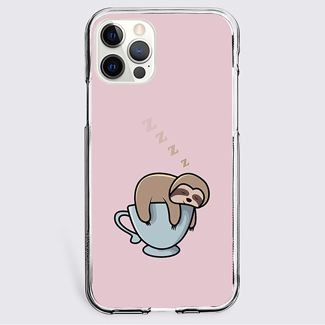 Dog Graphic Phone Case For iPhone 12 11 SE2020 Unique Design Protective Case Shockproof Clear Back Cover for iPhone 12 Pro Max XR XS Max iPhone 8 Plus 7