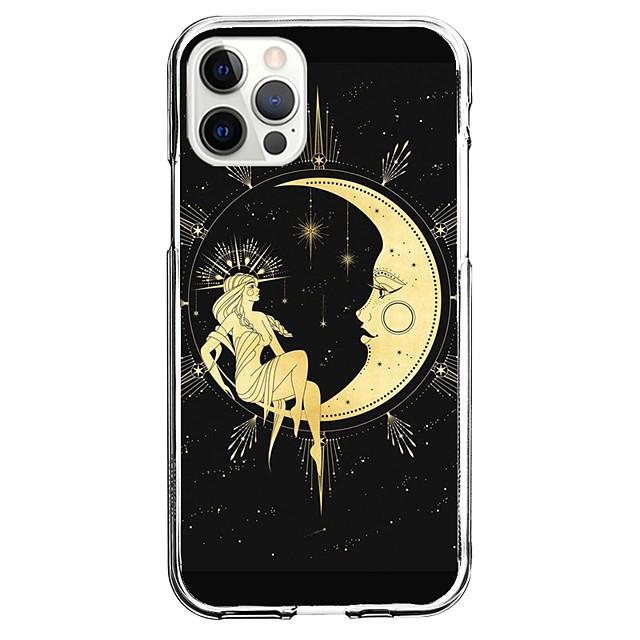 Creative Case For Apple iPhone 12 iPhone 11 iPhone 12 Pro Max Unique Design Protective Case and Screen Protector Shockproof Clear Back Cover TPU