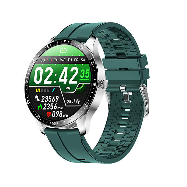 Long Battery-life Smartwatch for Android/IOS Phones, Water-resistant Sports Tracker Support Heart Rate/Blood Pressure Measure