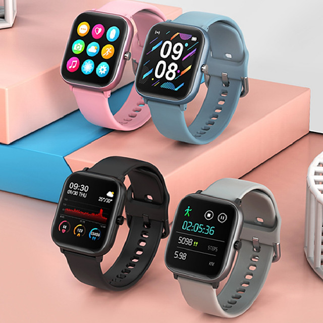 P20 Smartwatch for Apple/Android Phones, Bluetooth Sports Tracker Support Heart Rate Measure