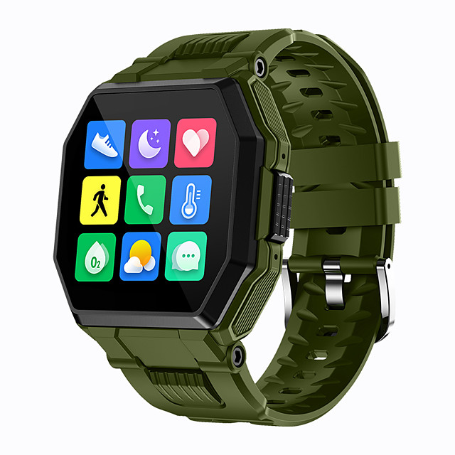 S9 Smartwatch Support Bluetooth Call/Heart Rate/Blood Pressure/Blood-oxygen Measure, Sports Tracker for Android/IOS/Samsung Phones